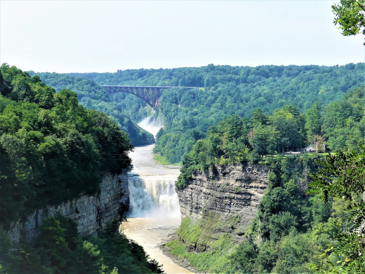 Letchworth State Park-The Grand Canyon of the East