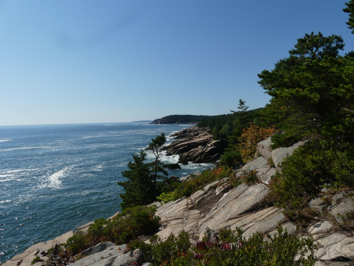 Acadia-the crowded but still spectacular Mount Desert Island